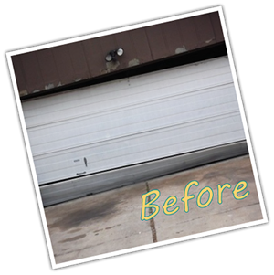 Before Garage Door Repair